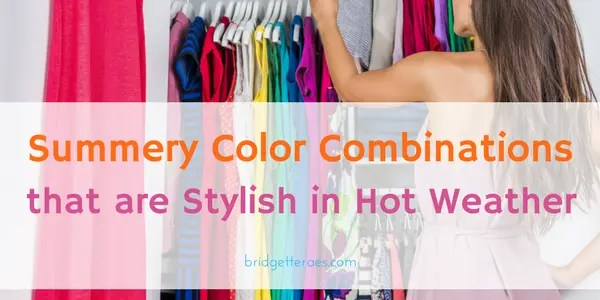 summer color combinations