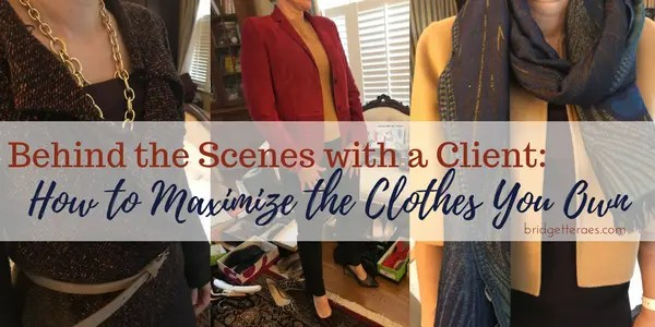 maximize the clothes you own