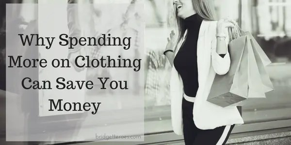 spending more on clothing