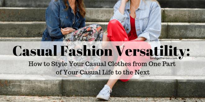 Casual fashion versatility
