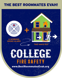BFD to Participate in College Fire Safety Month
