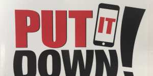 "Bridgewater Police Announce Support of ""Put it Down"" Campaign"