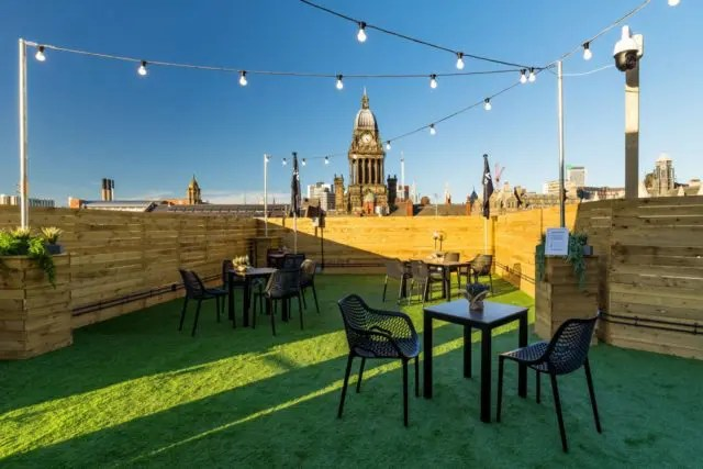 East Parade rooftop Investec