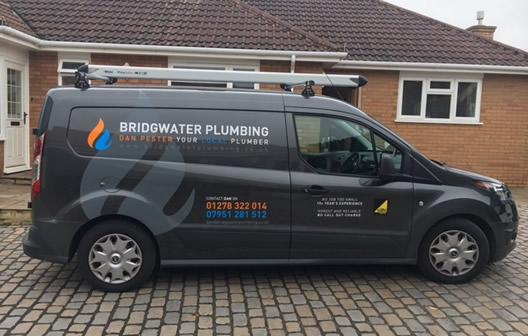 bridgwater plumber van