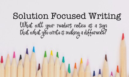 Solution Focused Writing Webinar