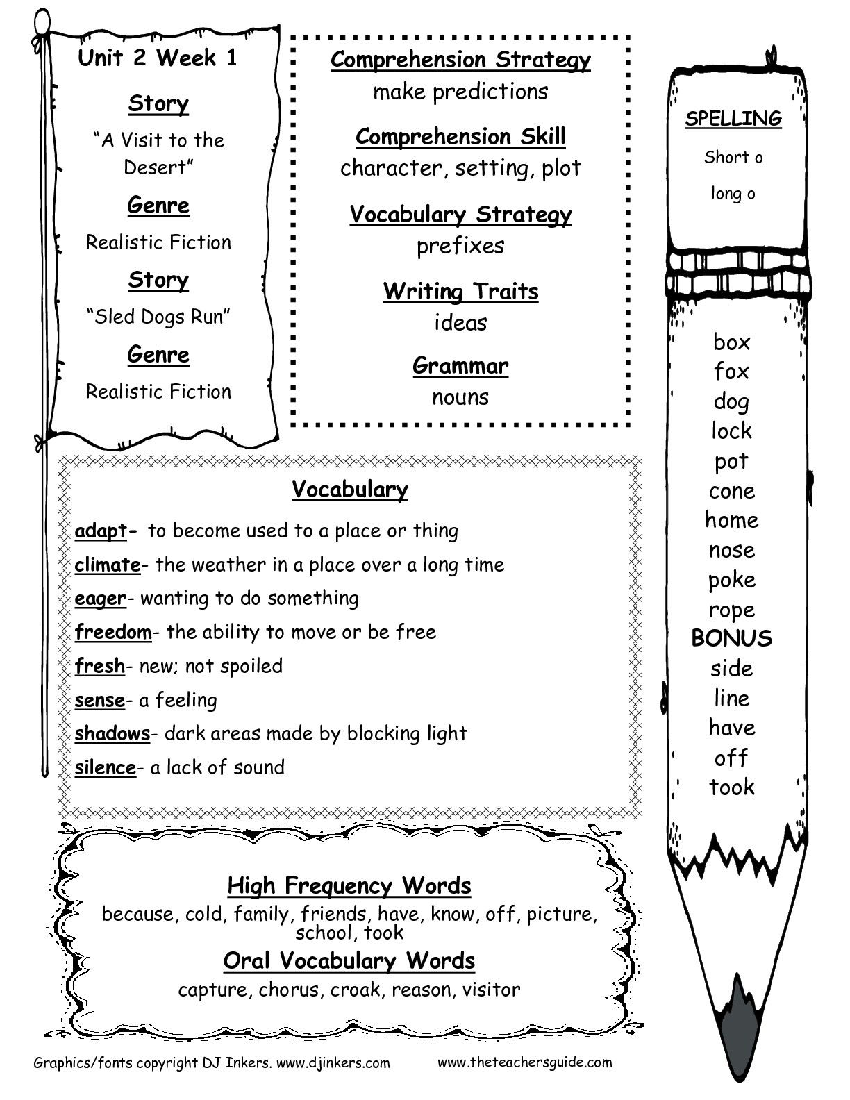 2nd Grade Grammar Worksheets