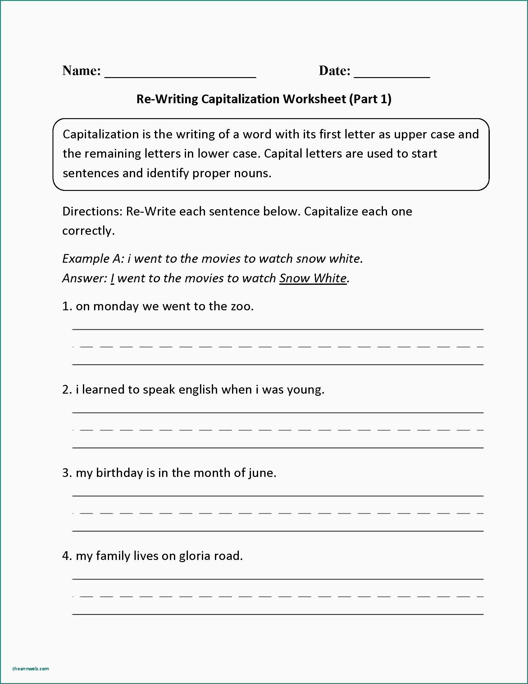 3rd Grade Paragraph Writing Worksheets