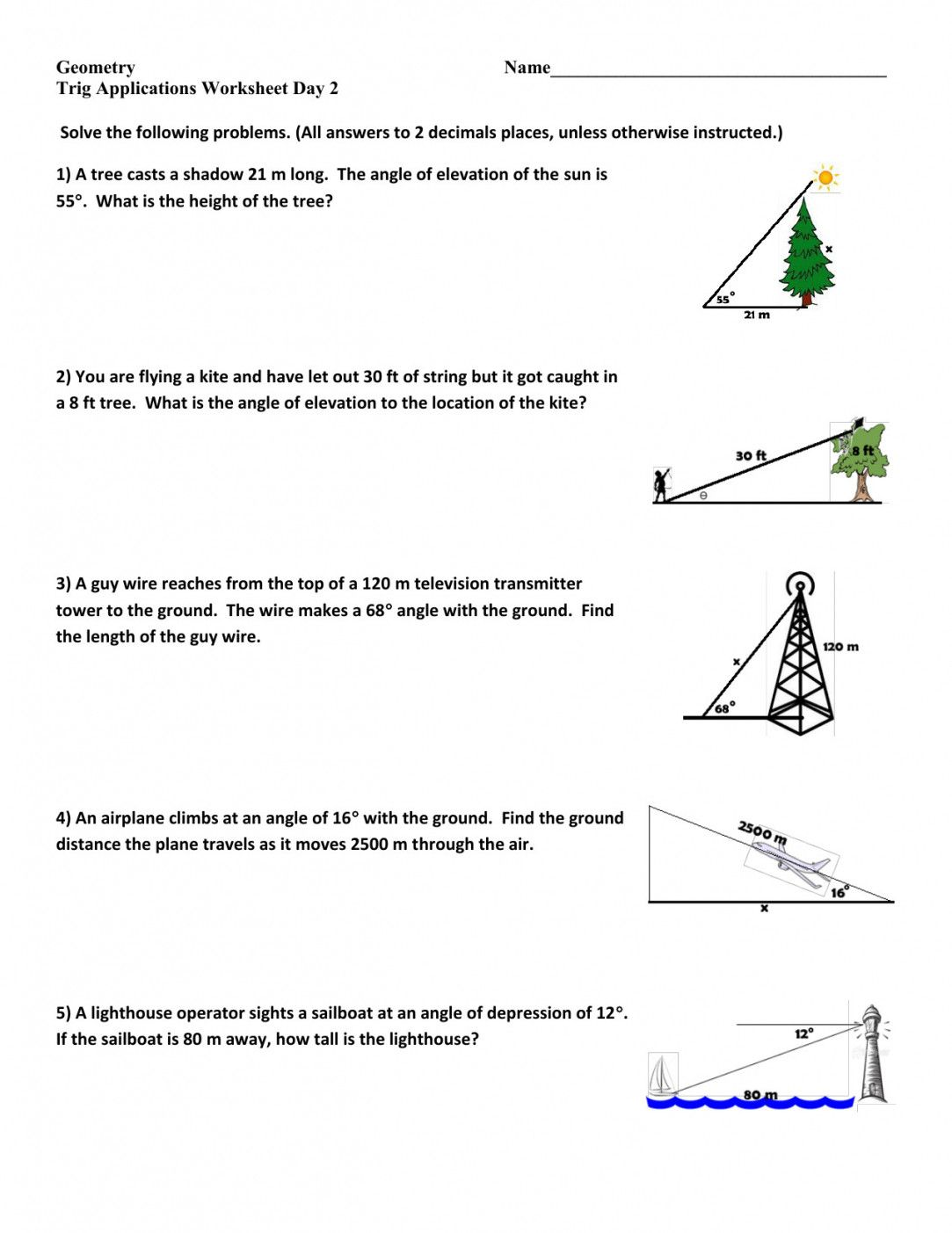 4 2 Practice Angles Of Triangles Worksheet Answers