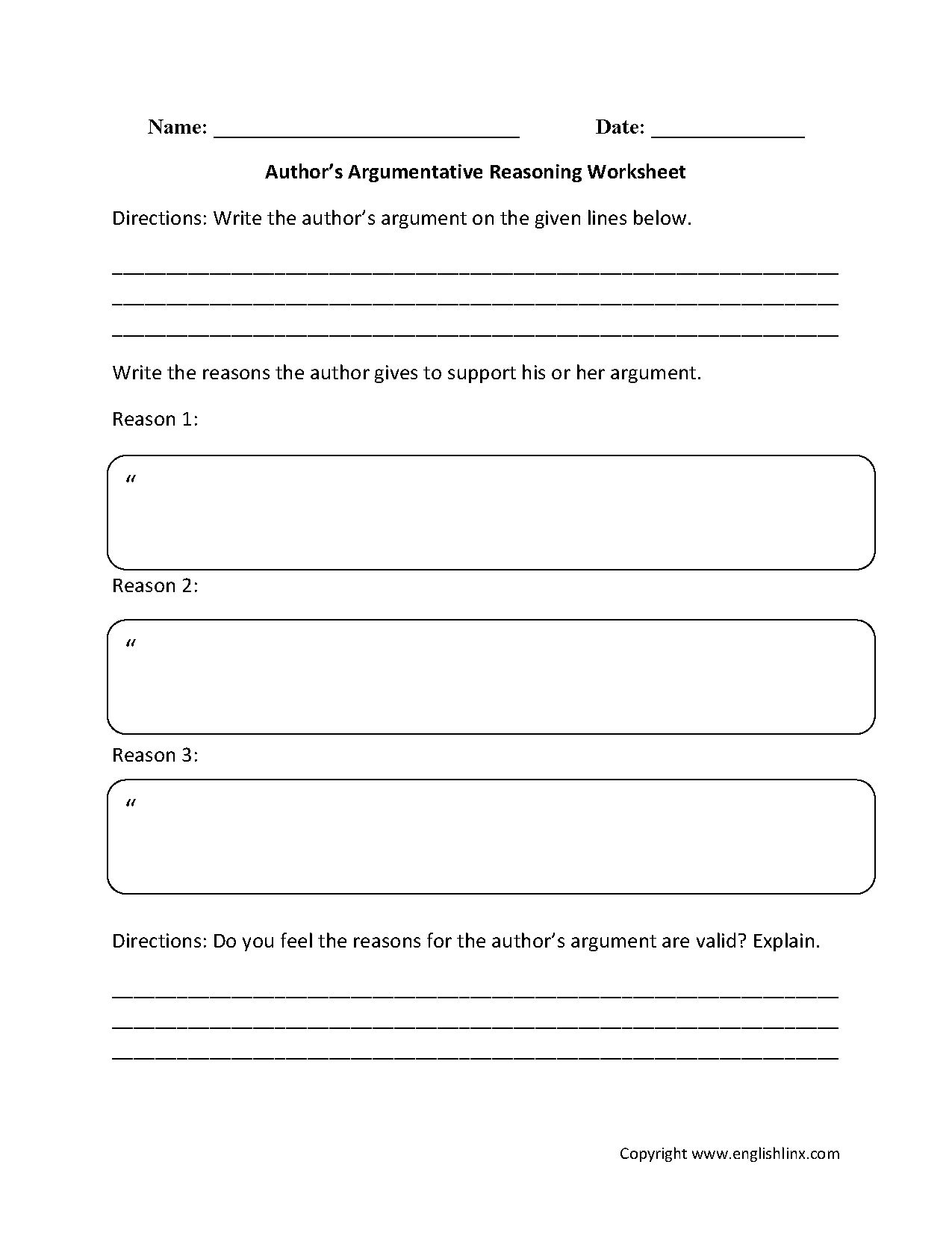 Nonfiction Reading Worksheet 8th Grade