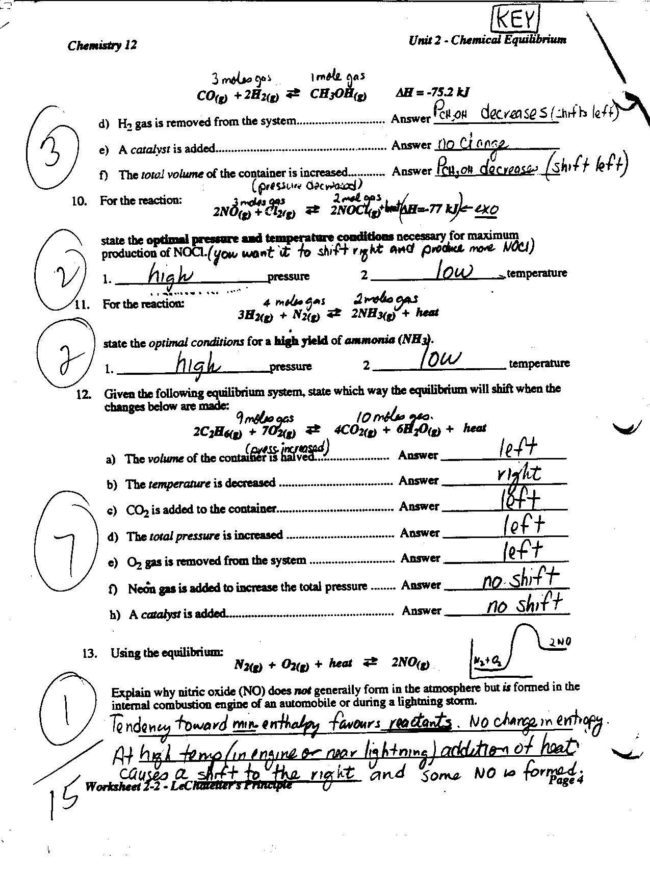 Identify Reaction Types Worksheet