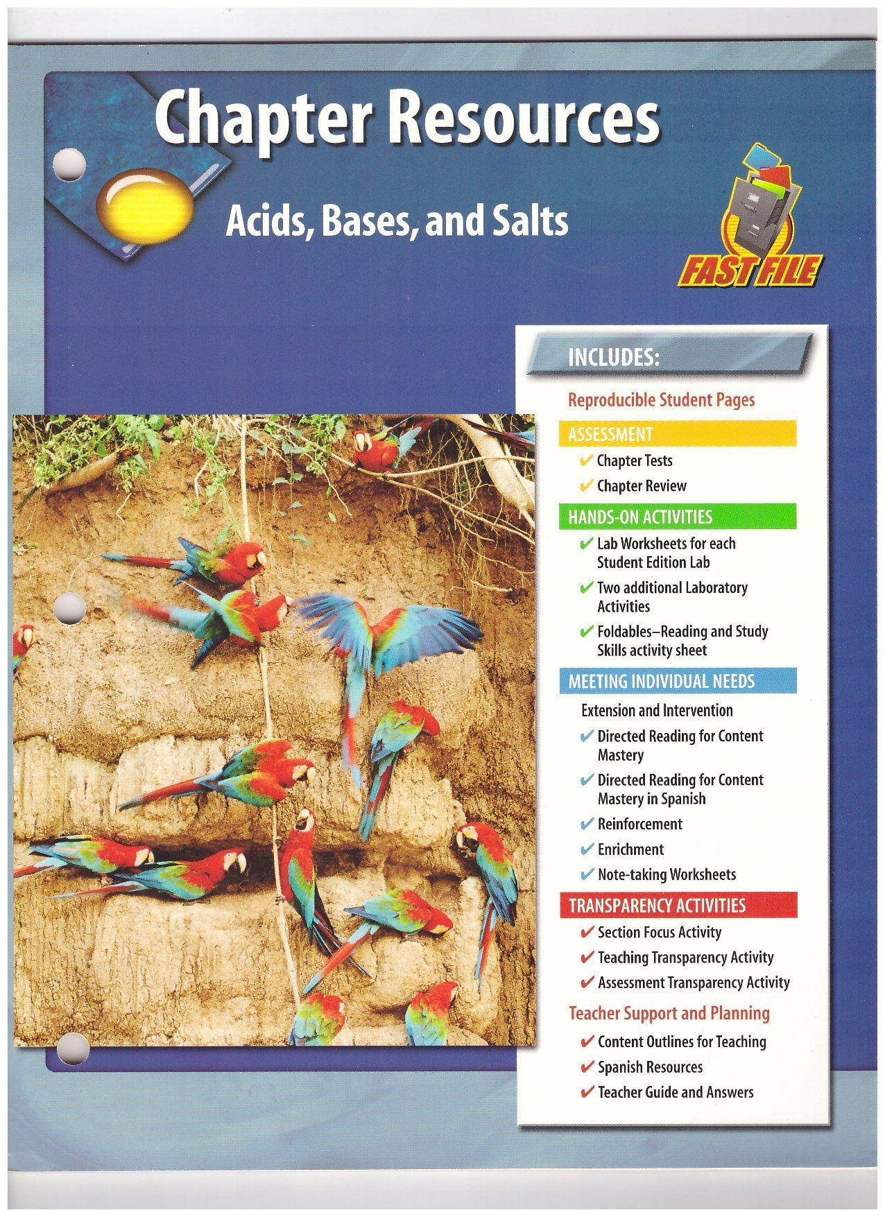 Acids Bases And Salts Worksheet