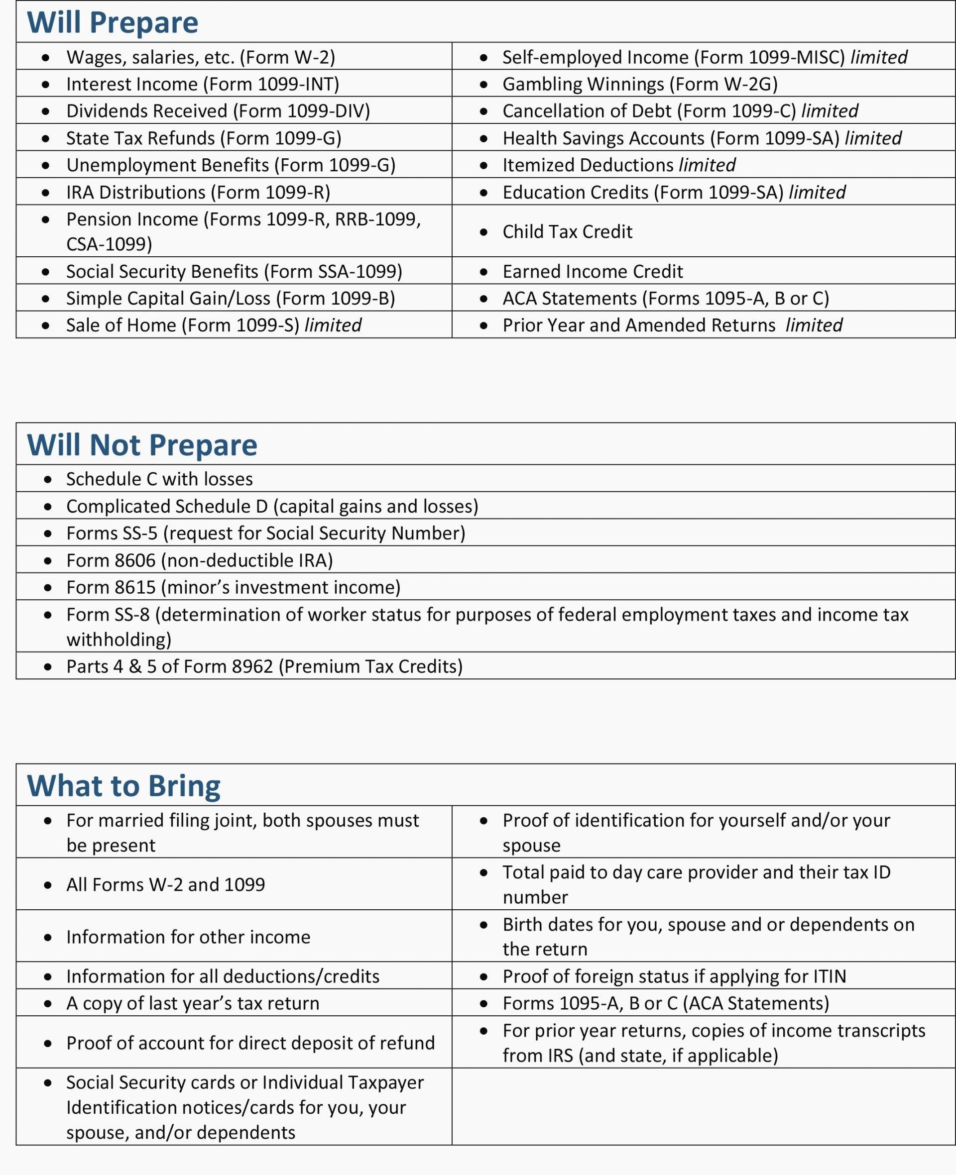 Actors Tax Worksheet