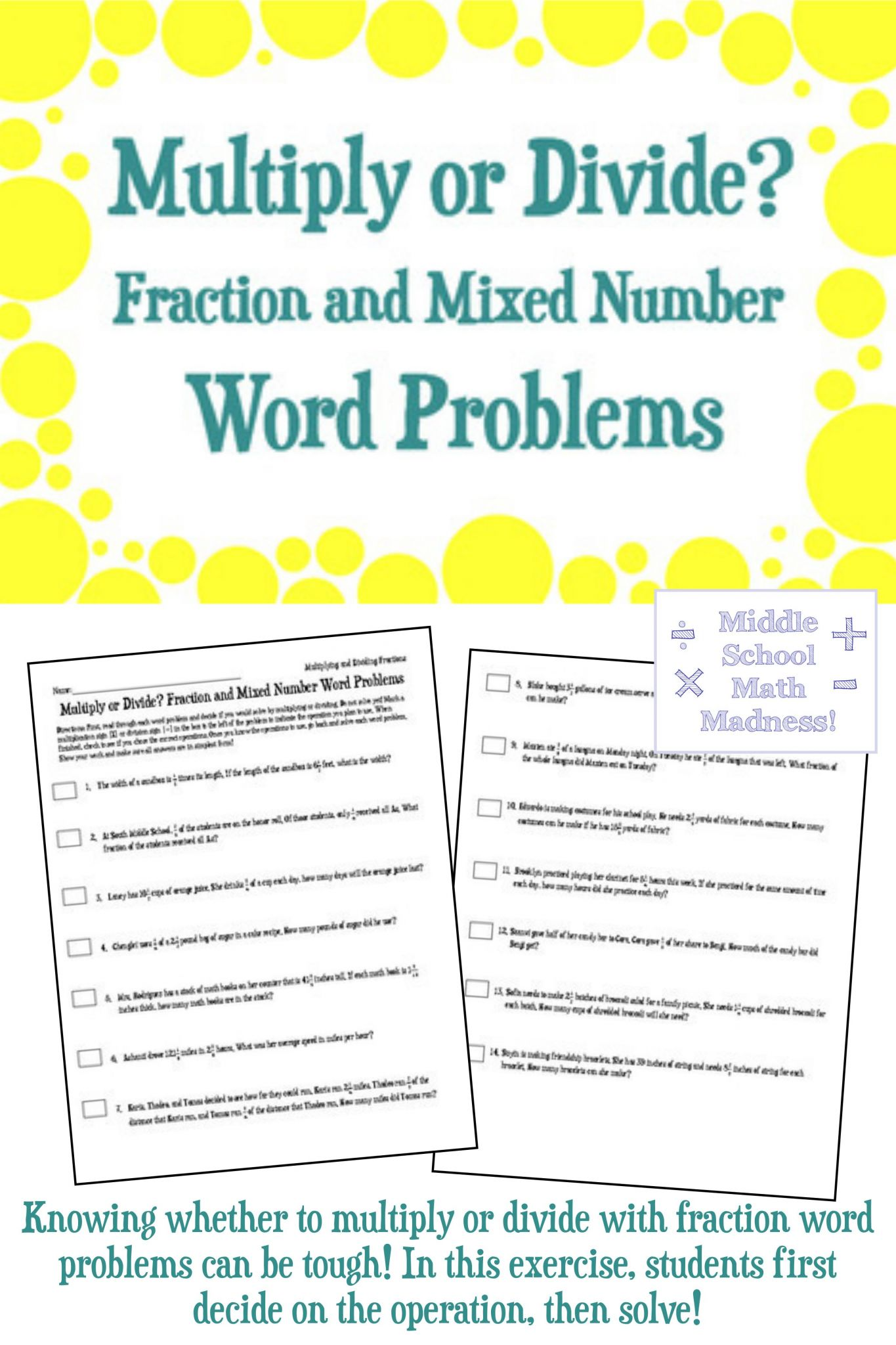 Adding Mixed Numbers Worksheet