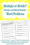 Multiply or divide fraction and mixed number word problems png 2500x3750 Dividing mixed numbers word problems