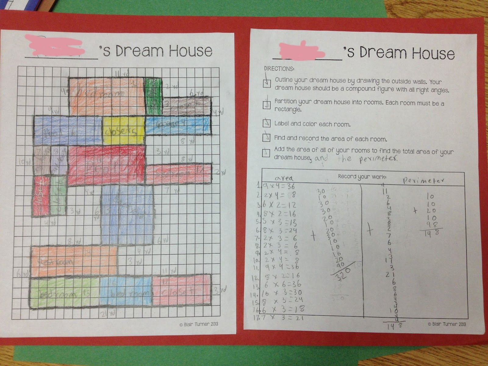 Area And Perimeter Of Rectangles Worksheet