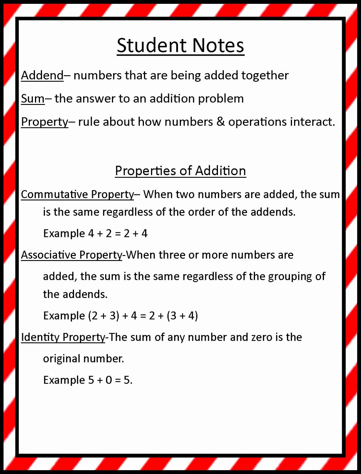 Associative Property Of Addition Worksheets 3rd Grade