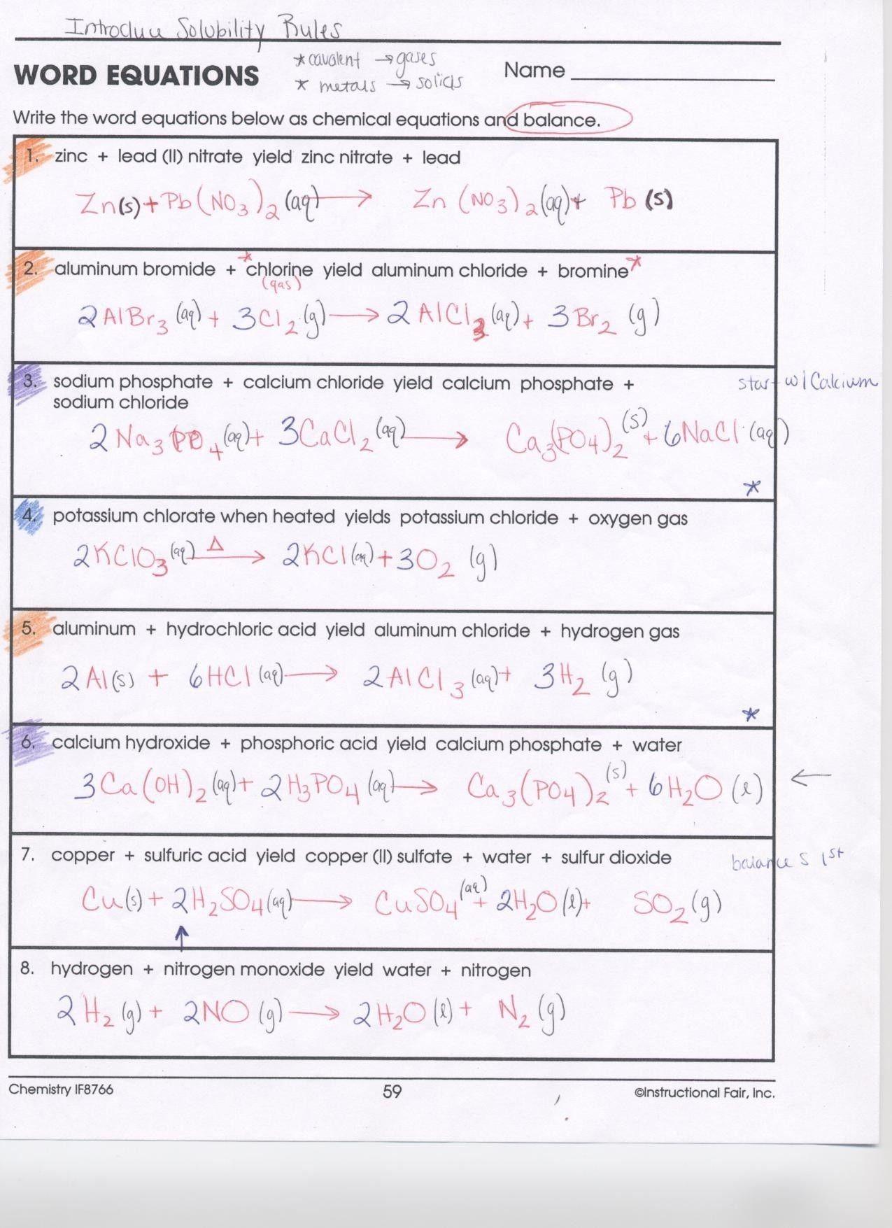 Balancing Nuclear Equations Worksheet Answers