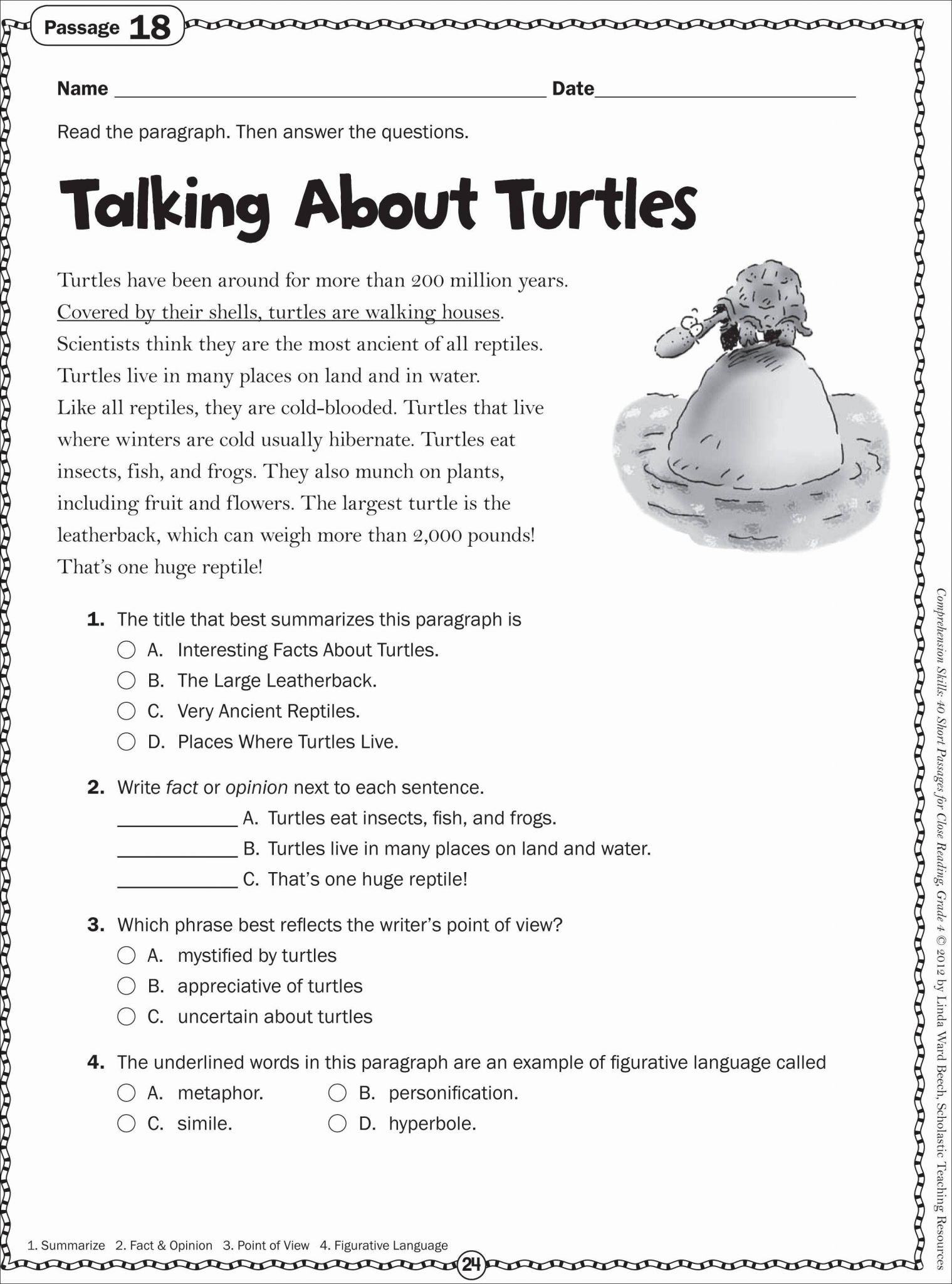 Beginning Reading Worksheets
