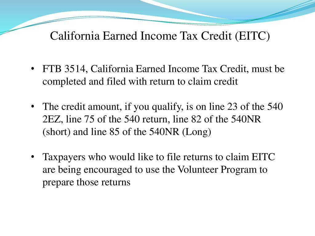 Eitc Worksheet