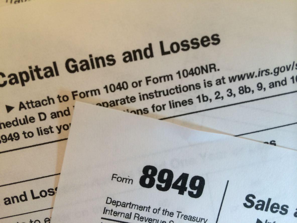 Capital Gains Tax Worksheet