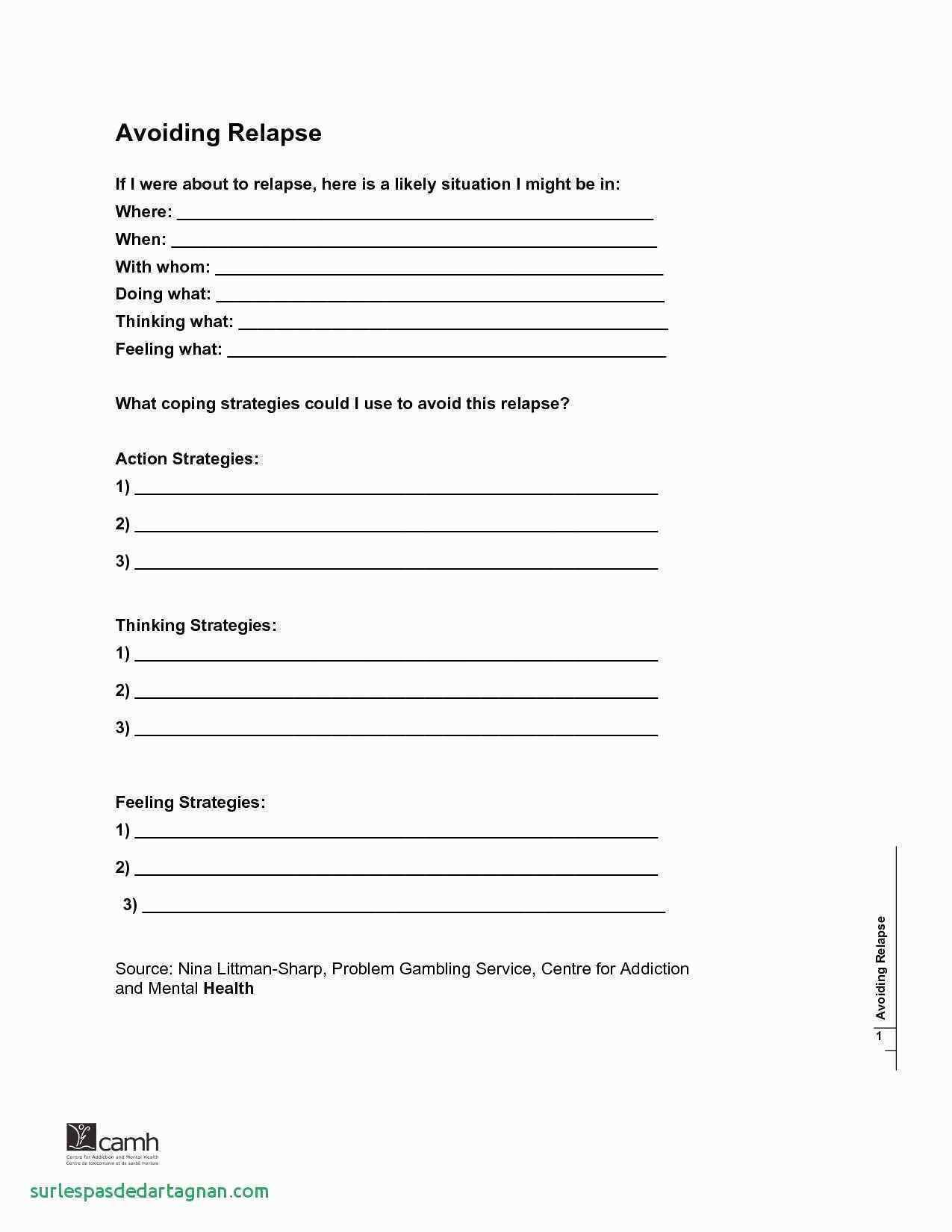 Cbt Therapy Worksheets