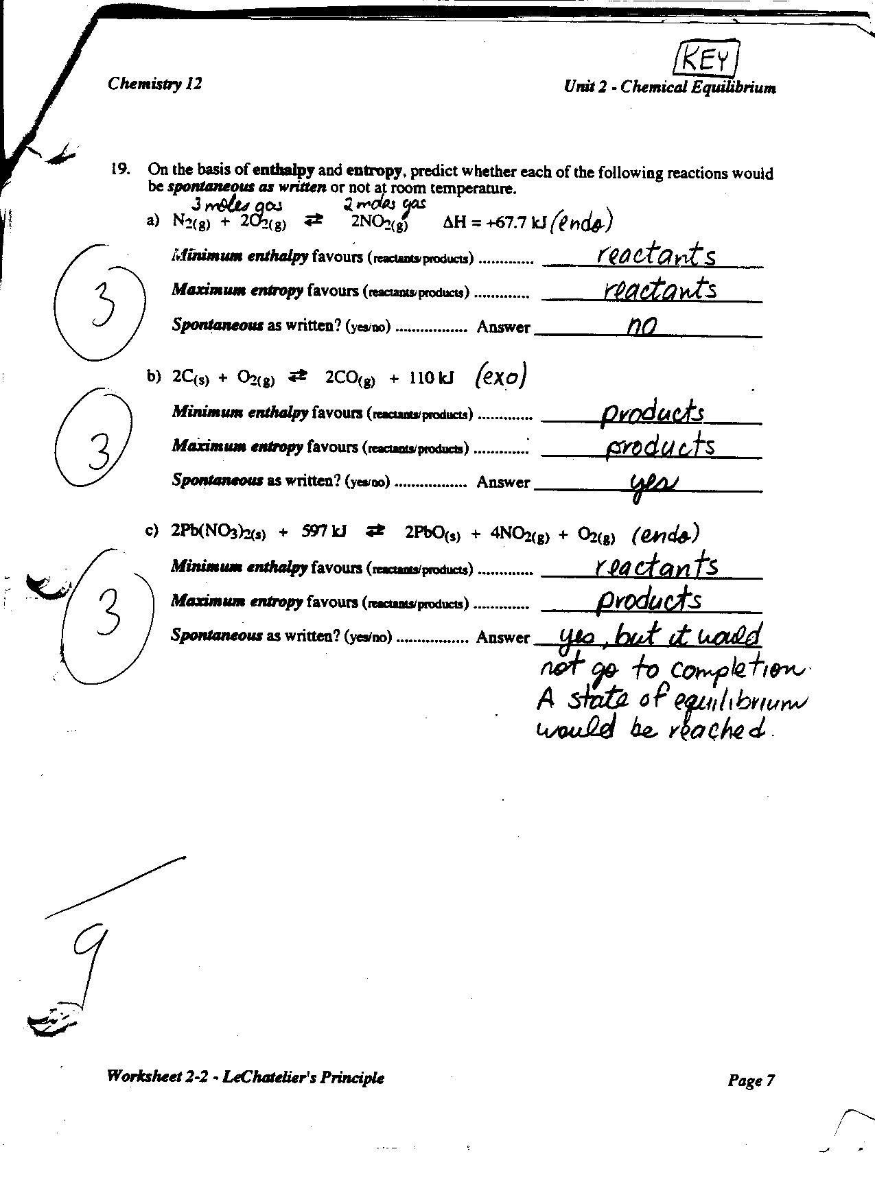 Chemistry Unit 2 Worksheet 1