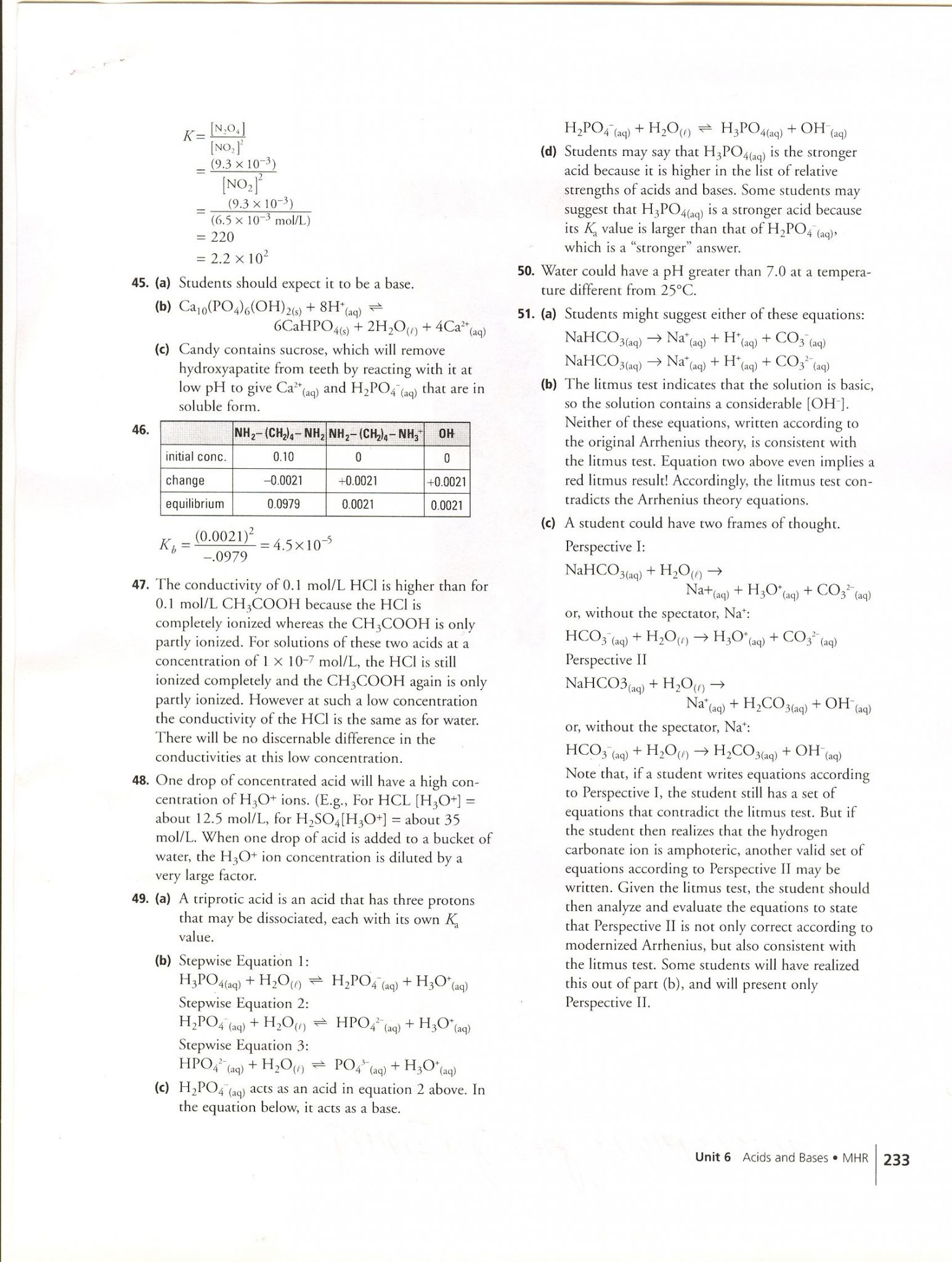 Organic Chemistry Worksheet 1