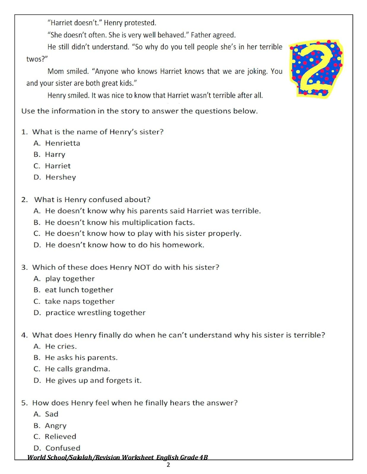 Daddy Day Care Video Worksheet Answer Key