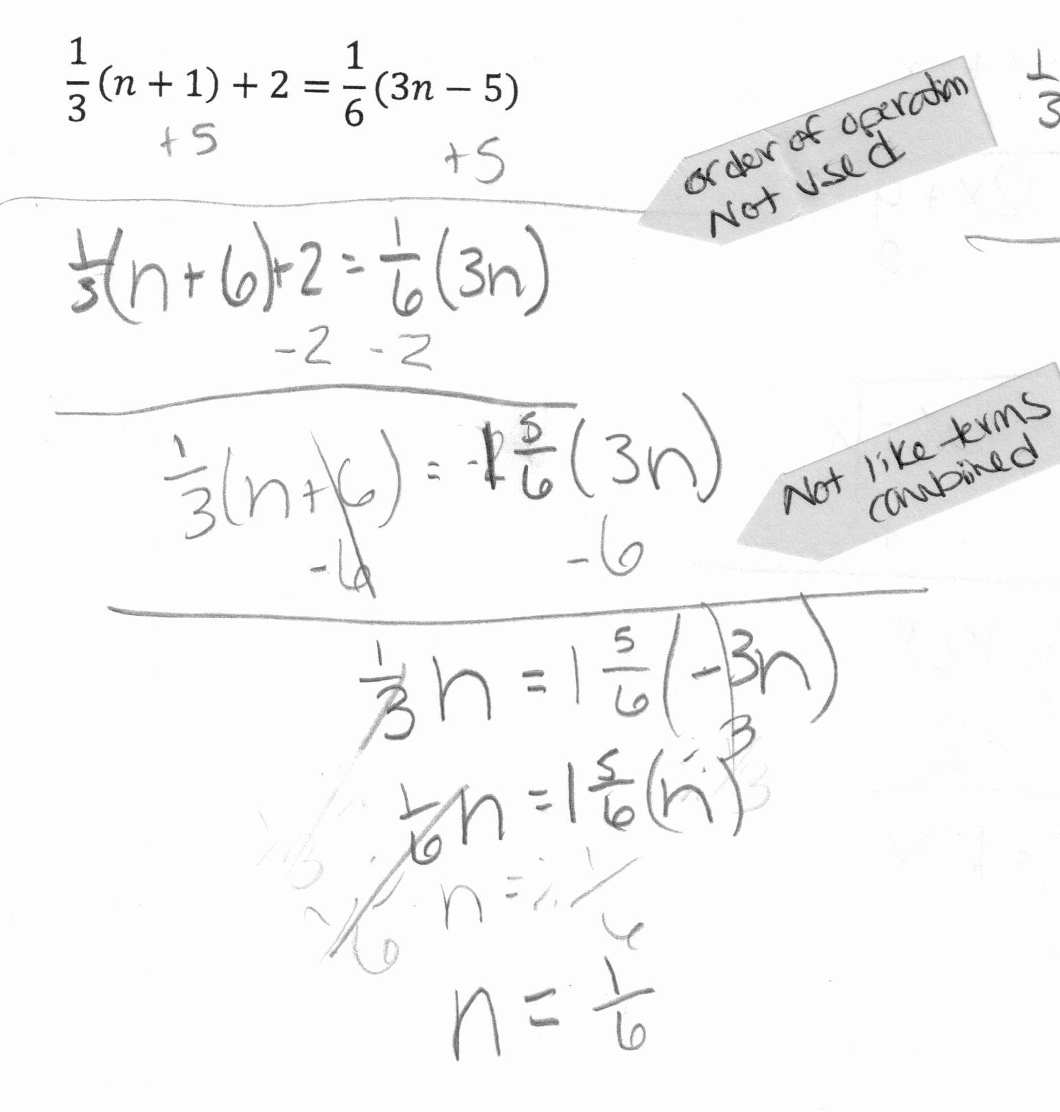 Distributive Property Worksheets 7th Grade