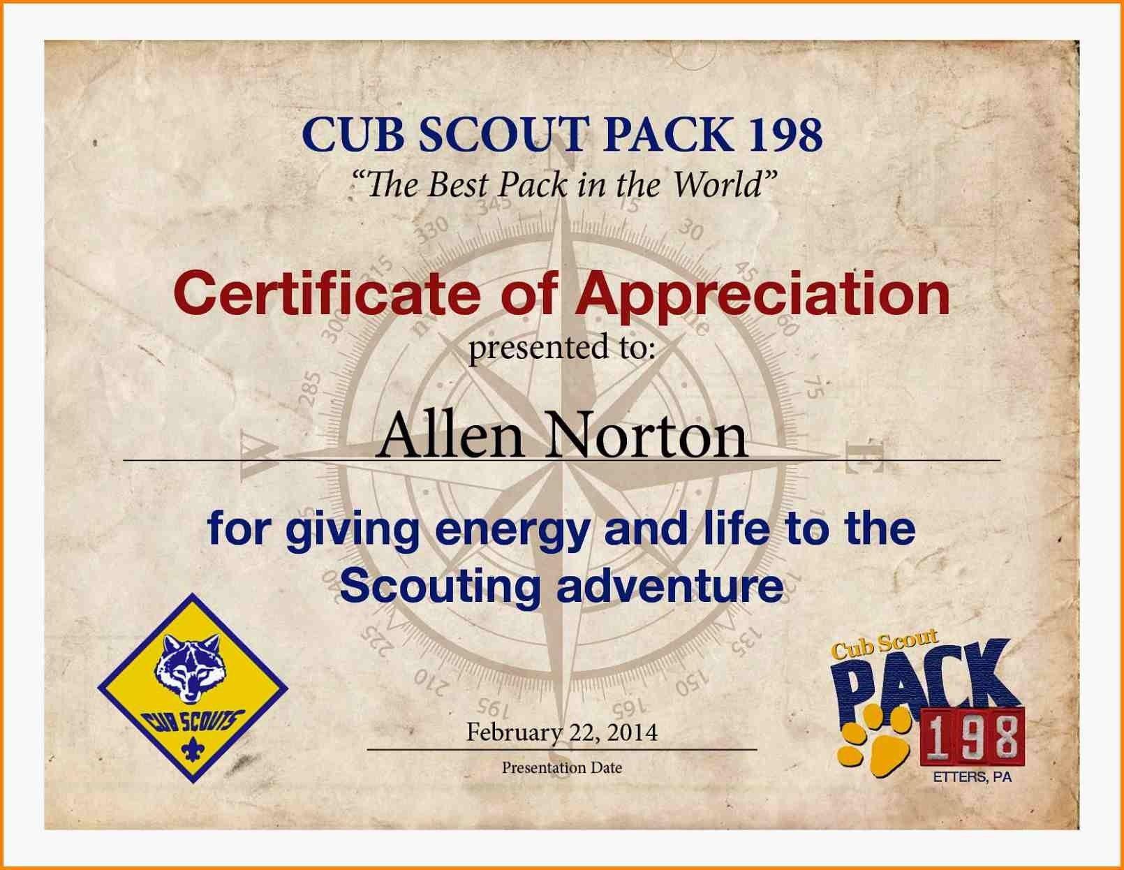 Eagle Scout Merit Badge Worksheet