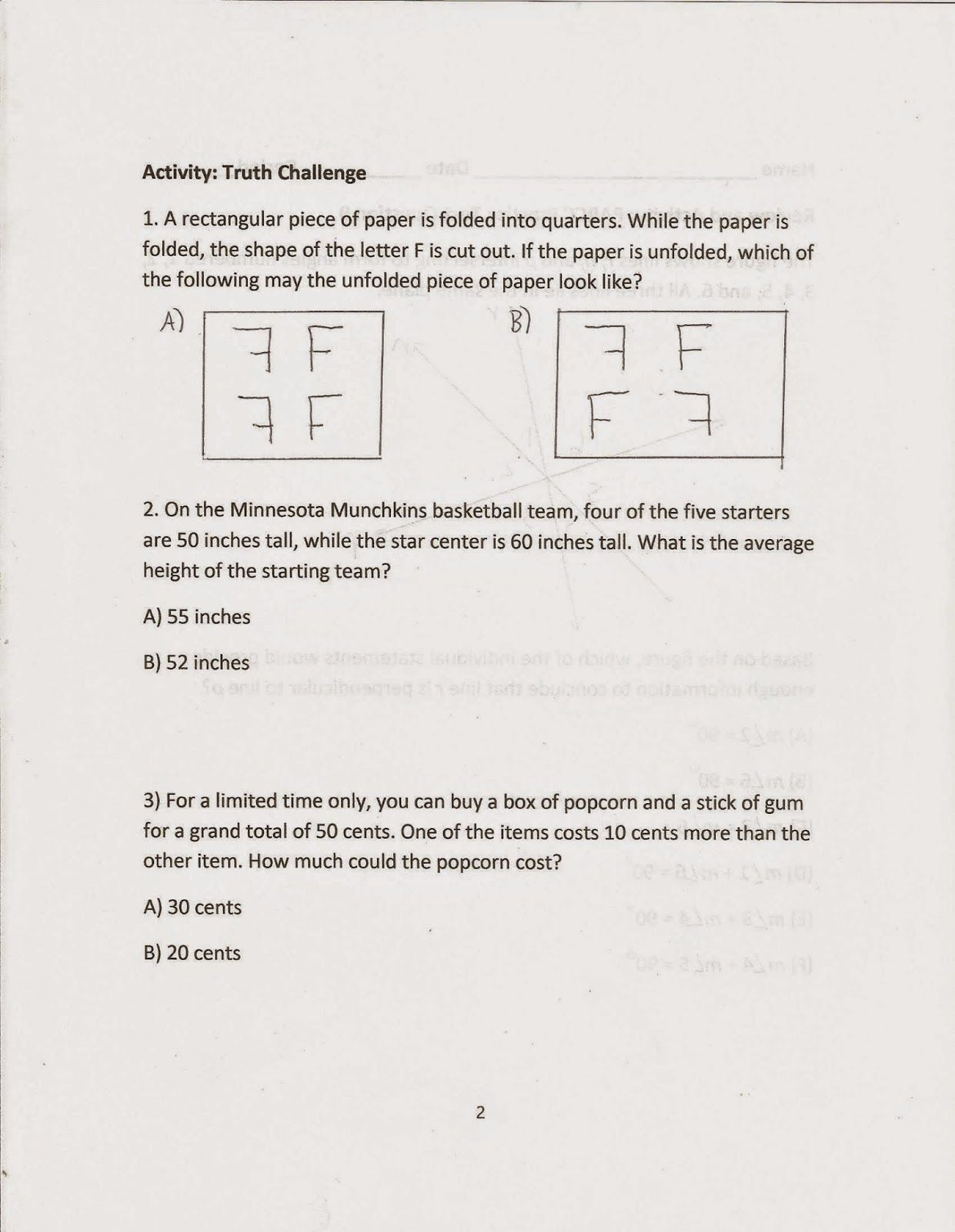 Episode 3 Westward Worksheet Answers