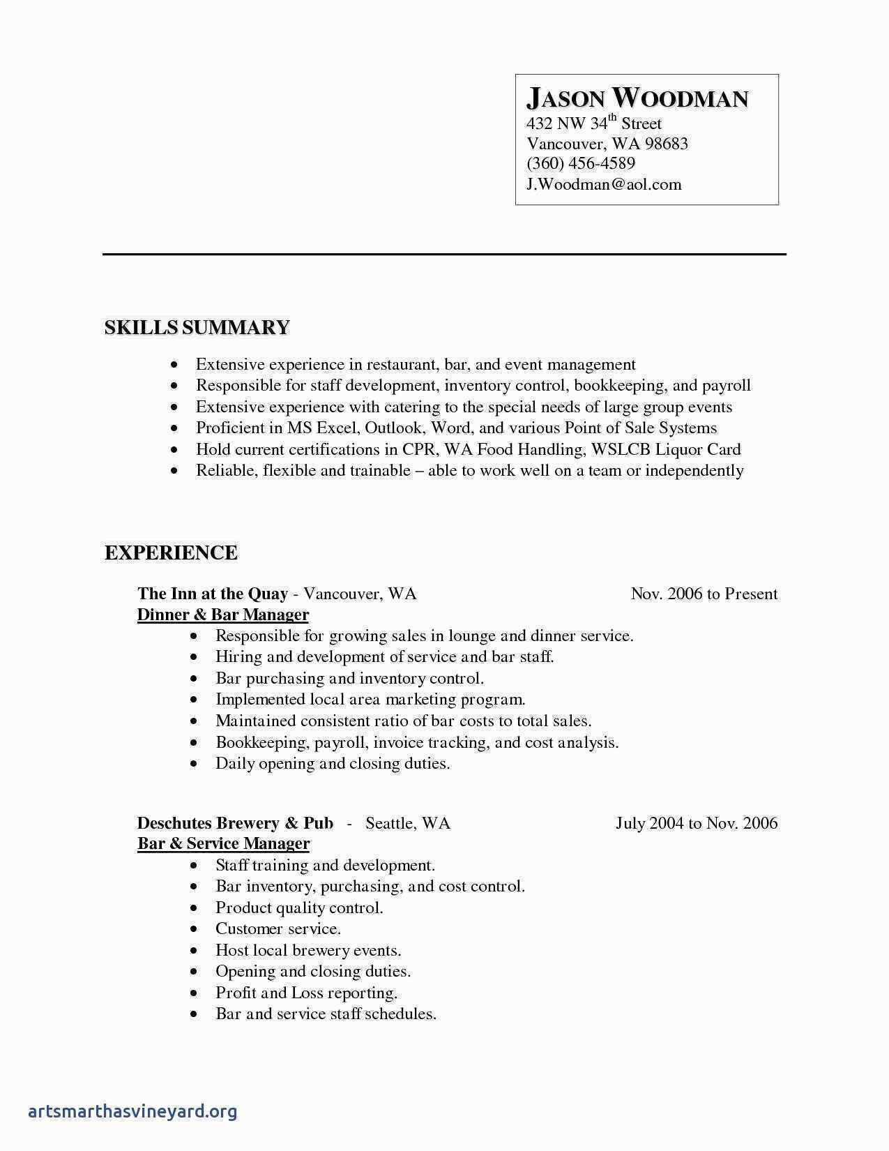 Excel Inventory Worksheet