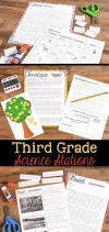 Third Grade Science Stations Create the perfect learning environment for your students using these science