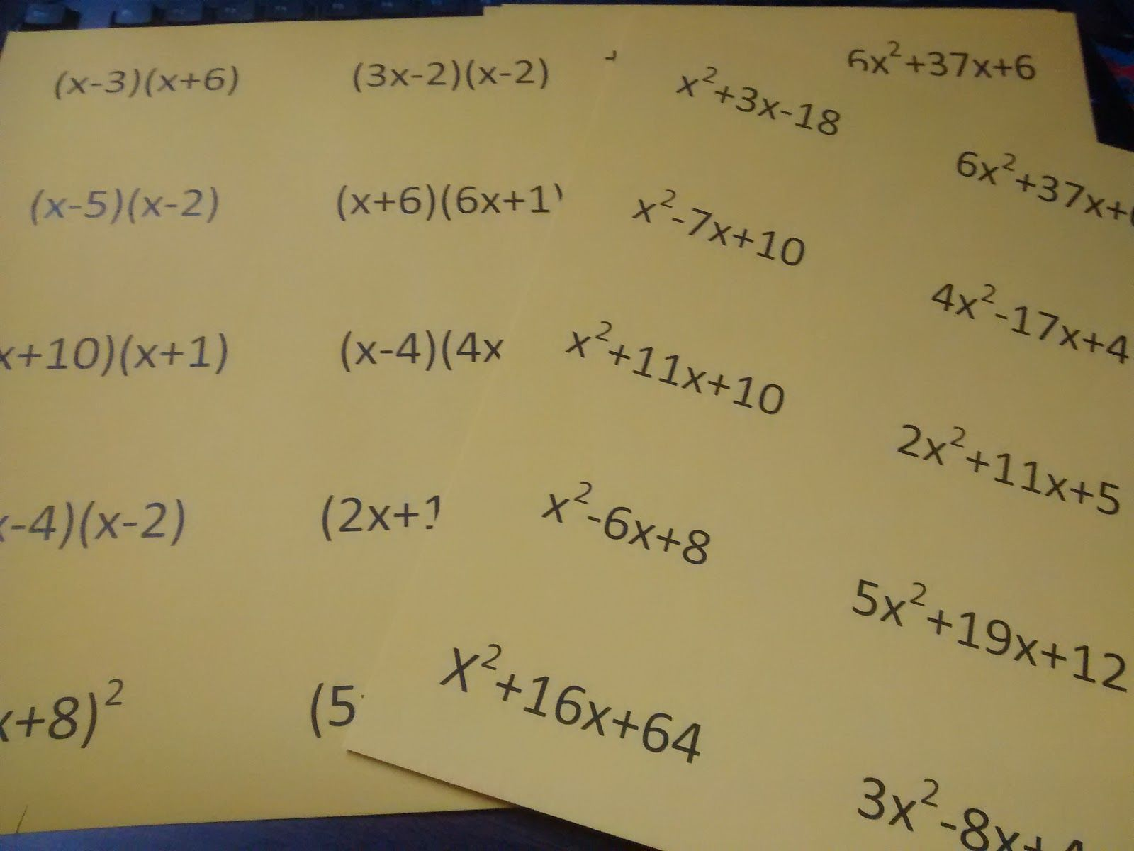 Distributive Property Worksheet With Answers