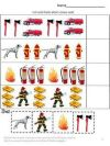 Fire Safety Cut and Paste Worksheets Pre K K and Special Education contains