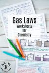 These detailed gas law worksheets include topics like Boyle s Law Gay Lussac s Charles Law kinetic molecular theory and partial pressures