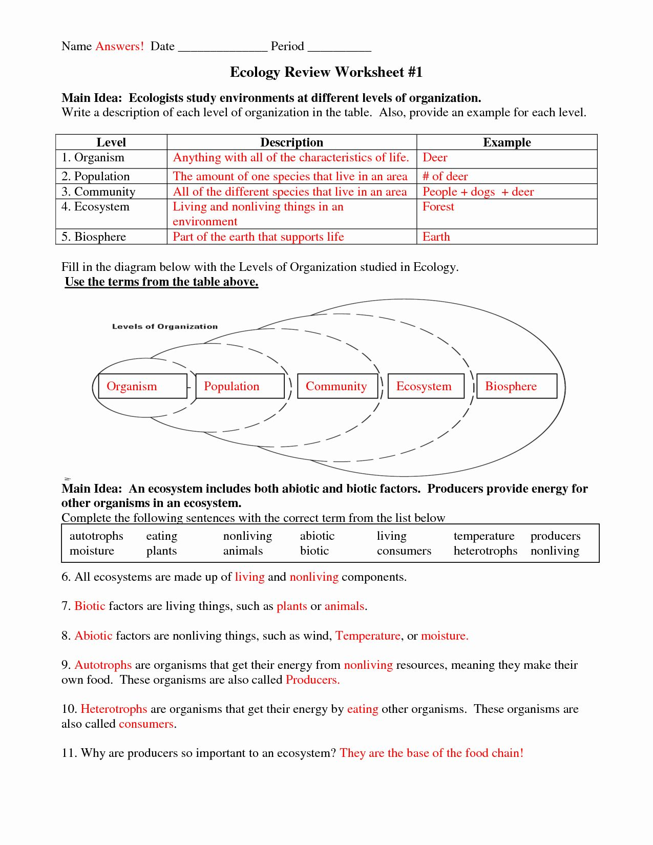 Getting Paid Reinforcement Worksheet Answers