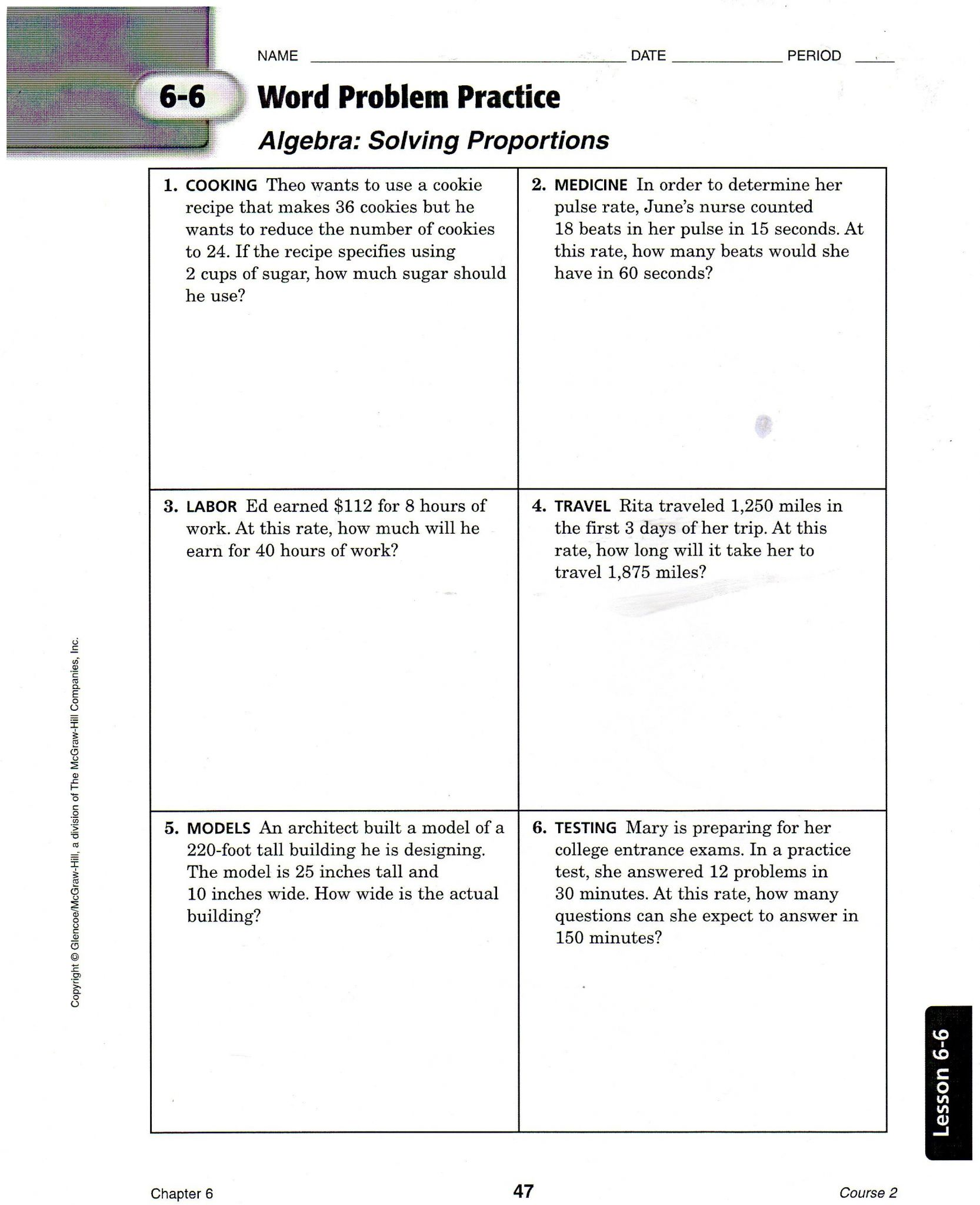 Glencoe The American Journey Worksheet Answers