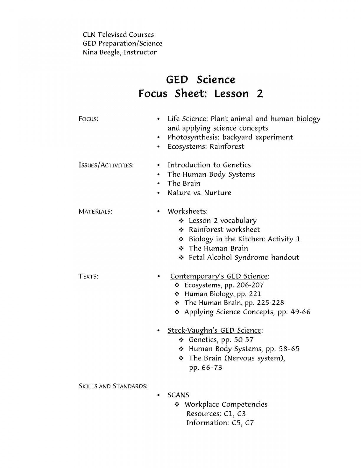 Goal Setting Worksheet For Students