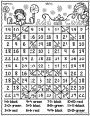 Christmas Math Coloring Pages Collection Hidden Picture Math Worksheets Grade 1
