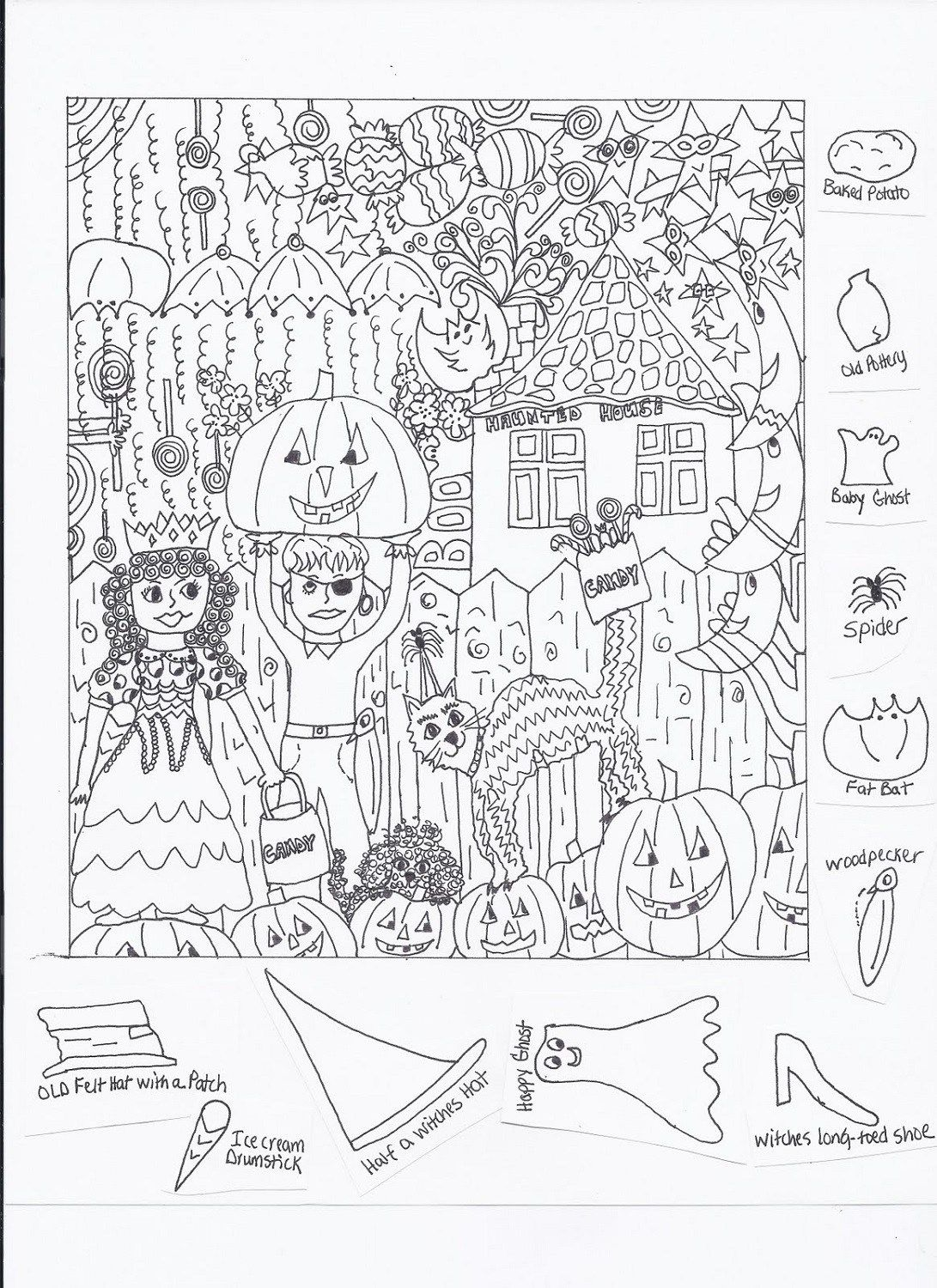 Highlights Hidden Pictures Printable Worksheets