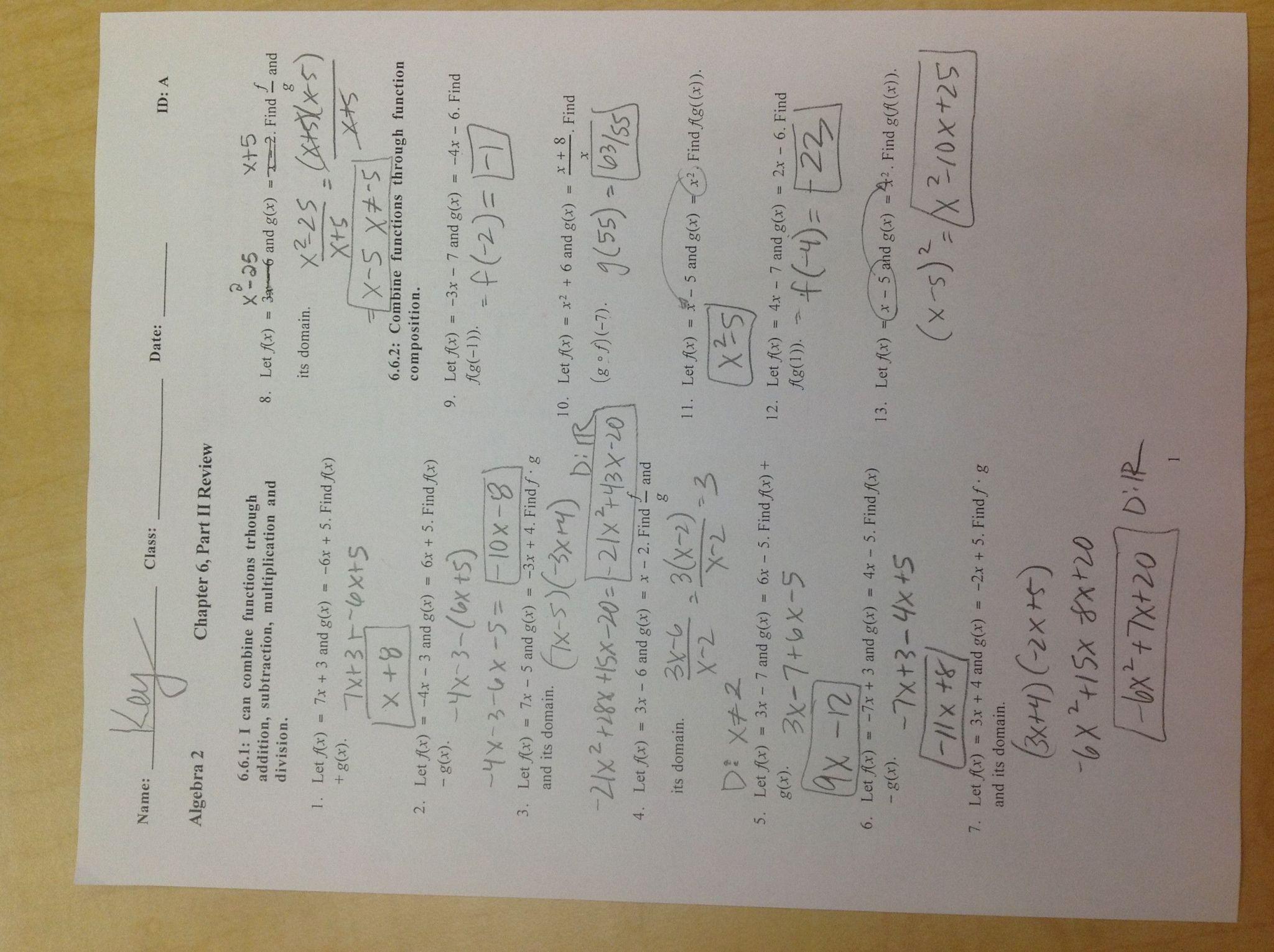 Interpreting Graphs Worksheet Answer Key