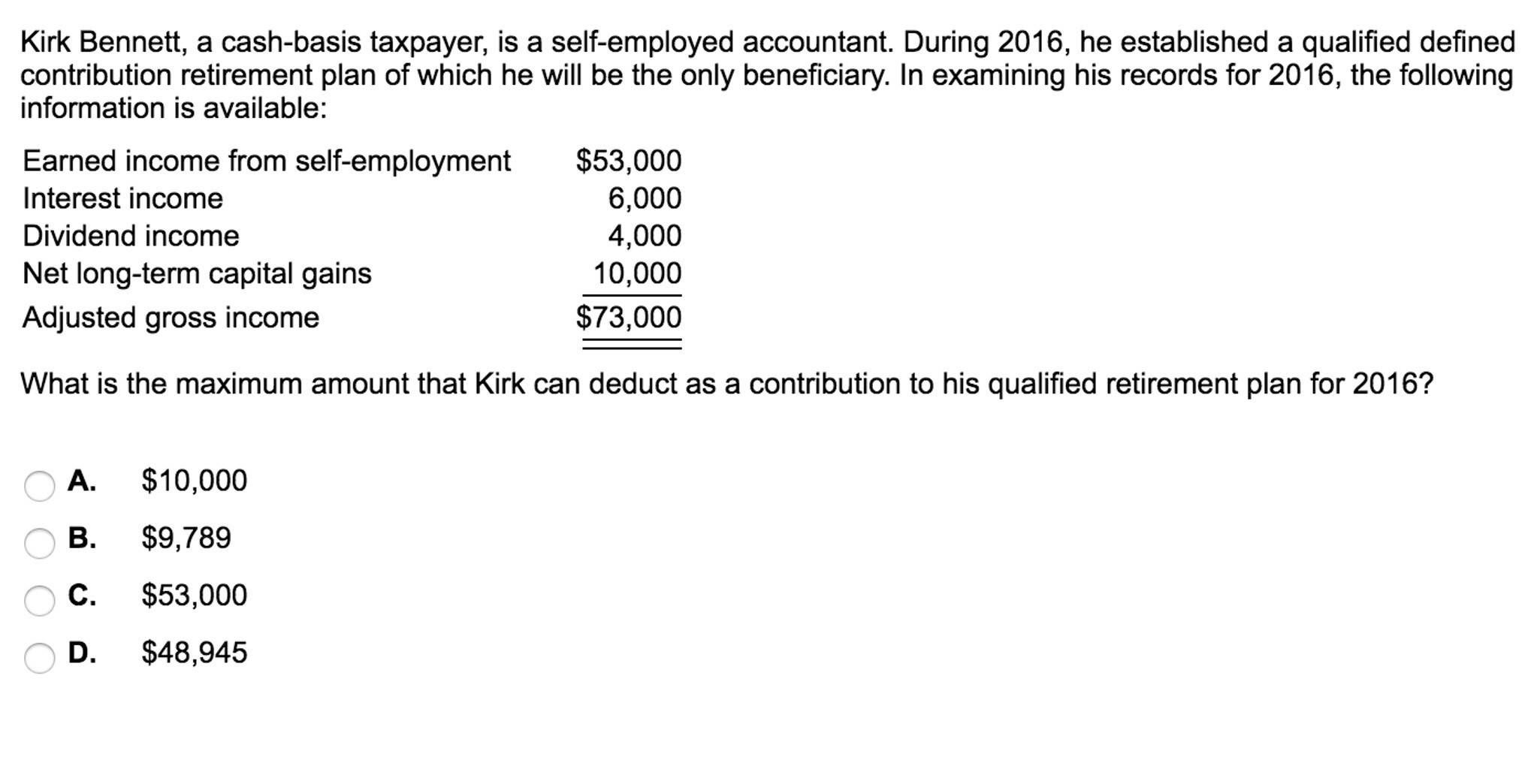Ira Deduction Worksheet