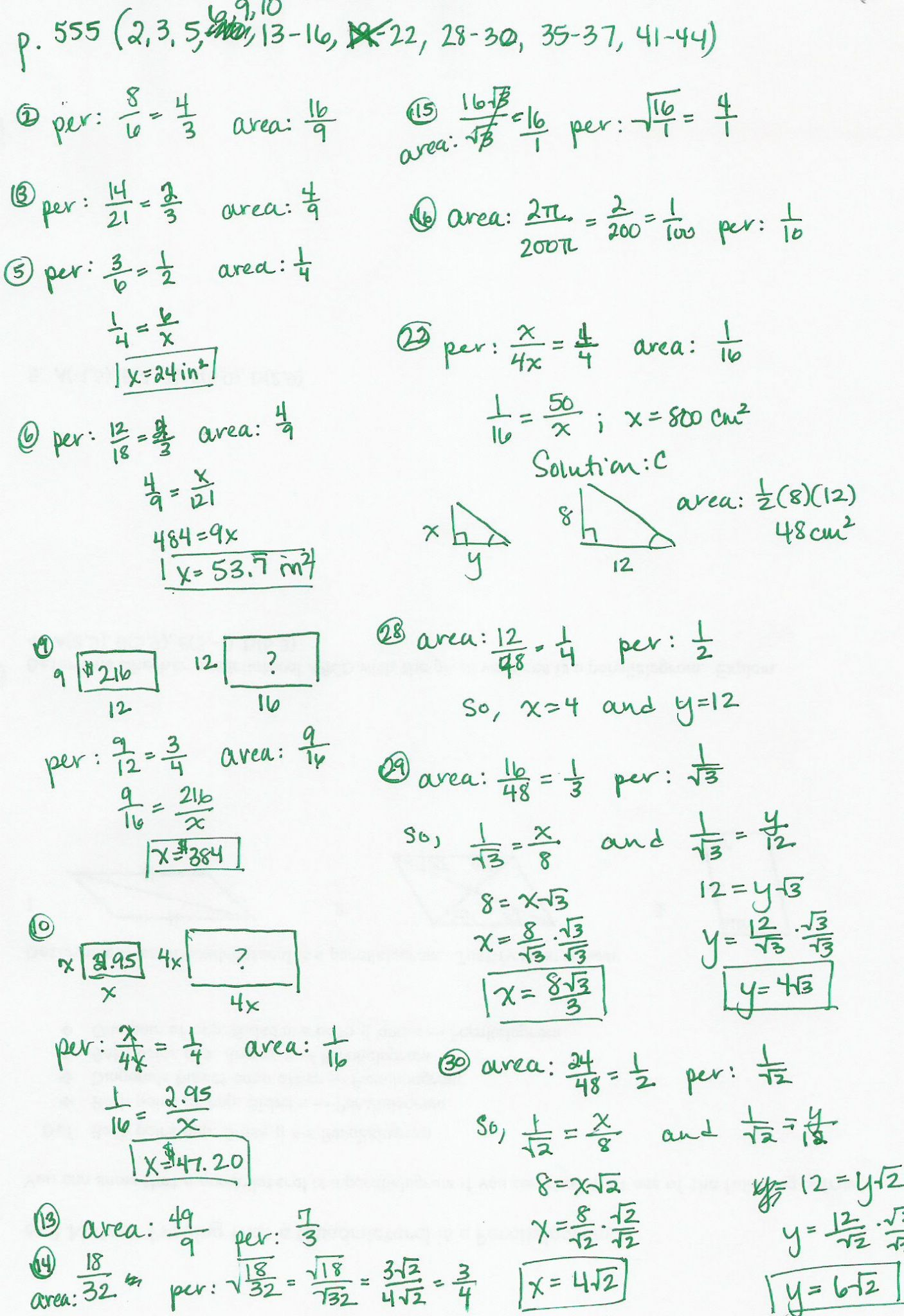 Law Of Sines Practice Worksheet Answers