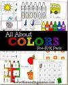 All About COLOR Worksheets for Preschool and Kindergarten FREE