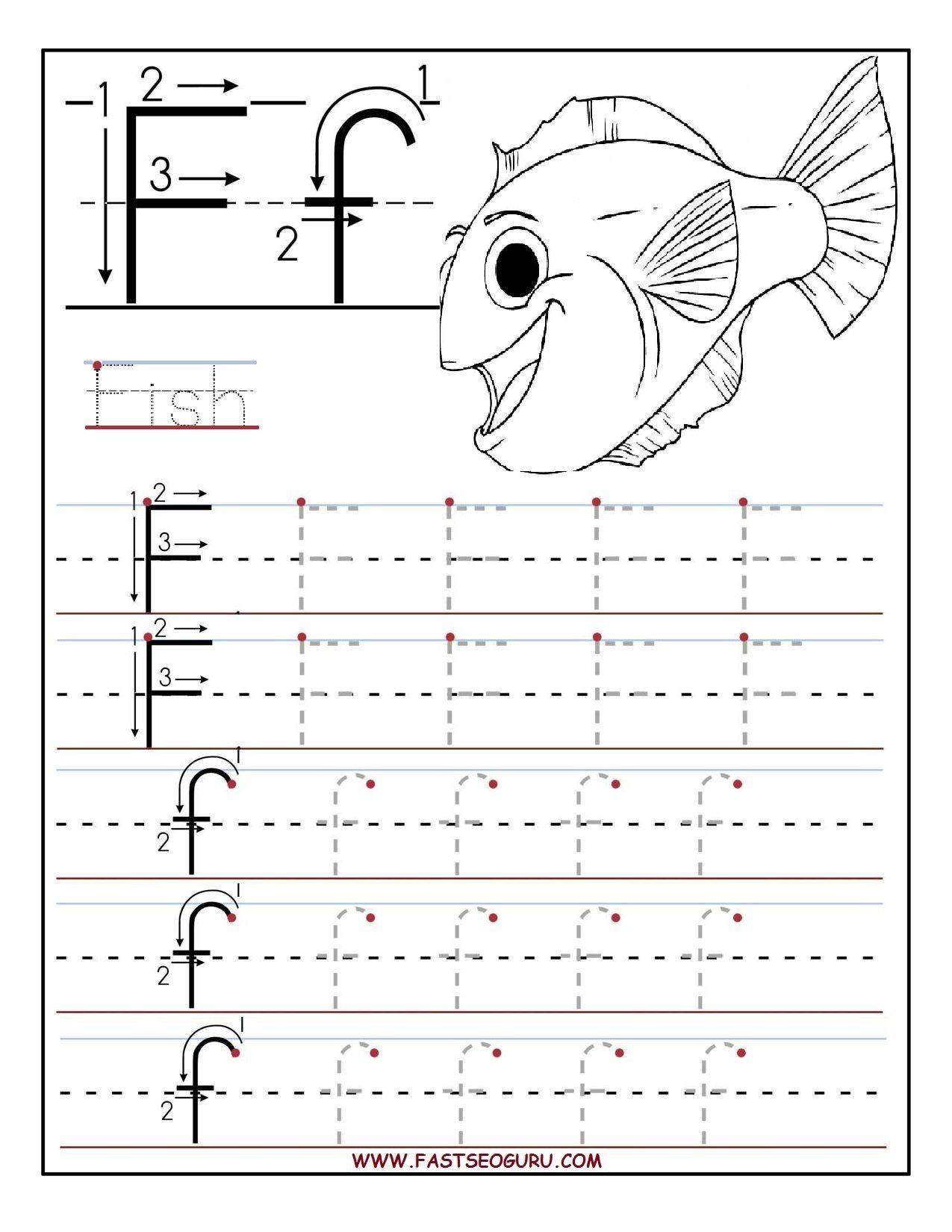 Letter G Tracing Worksheets Preschool