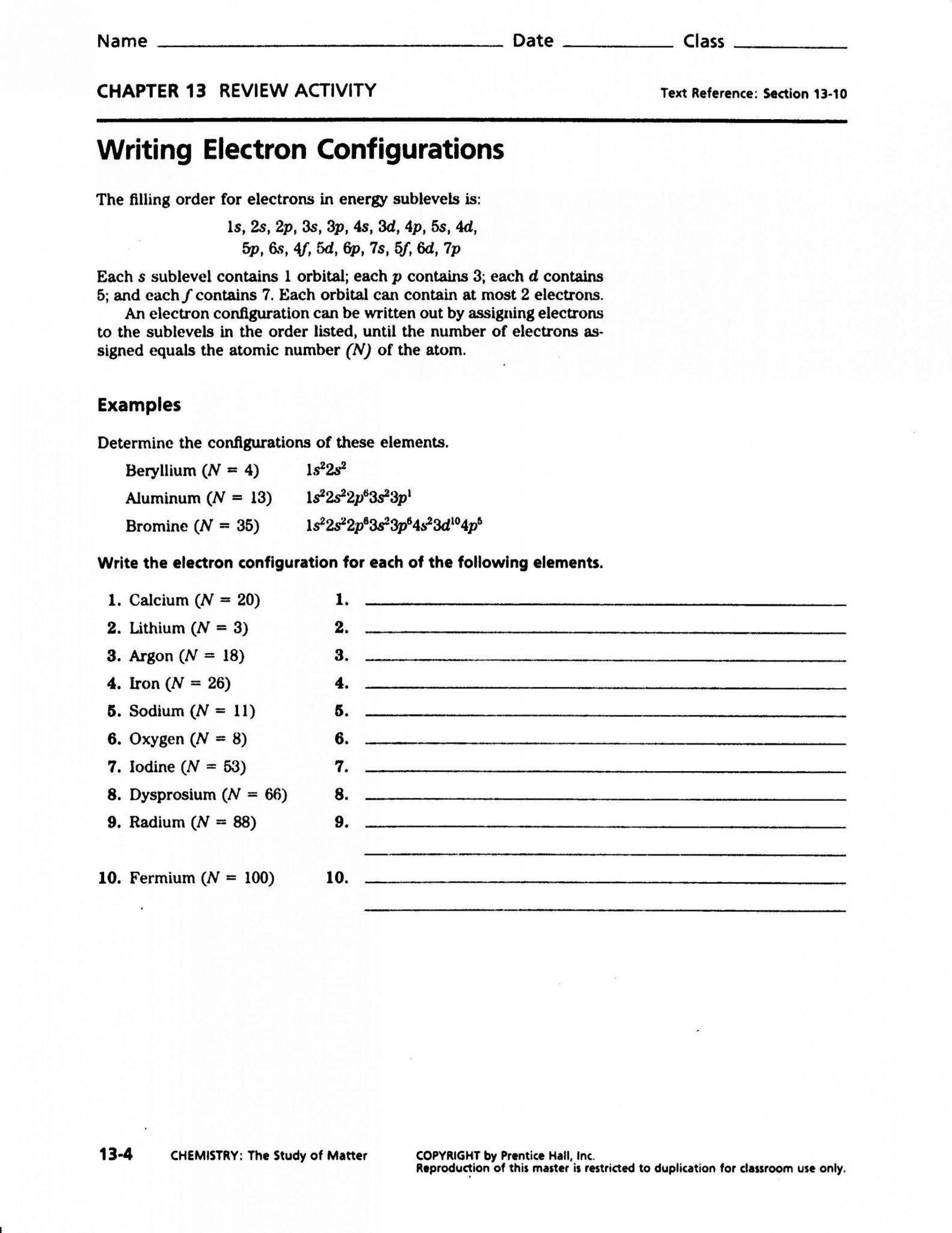Lewis Dot Structure Worksheet High School