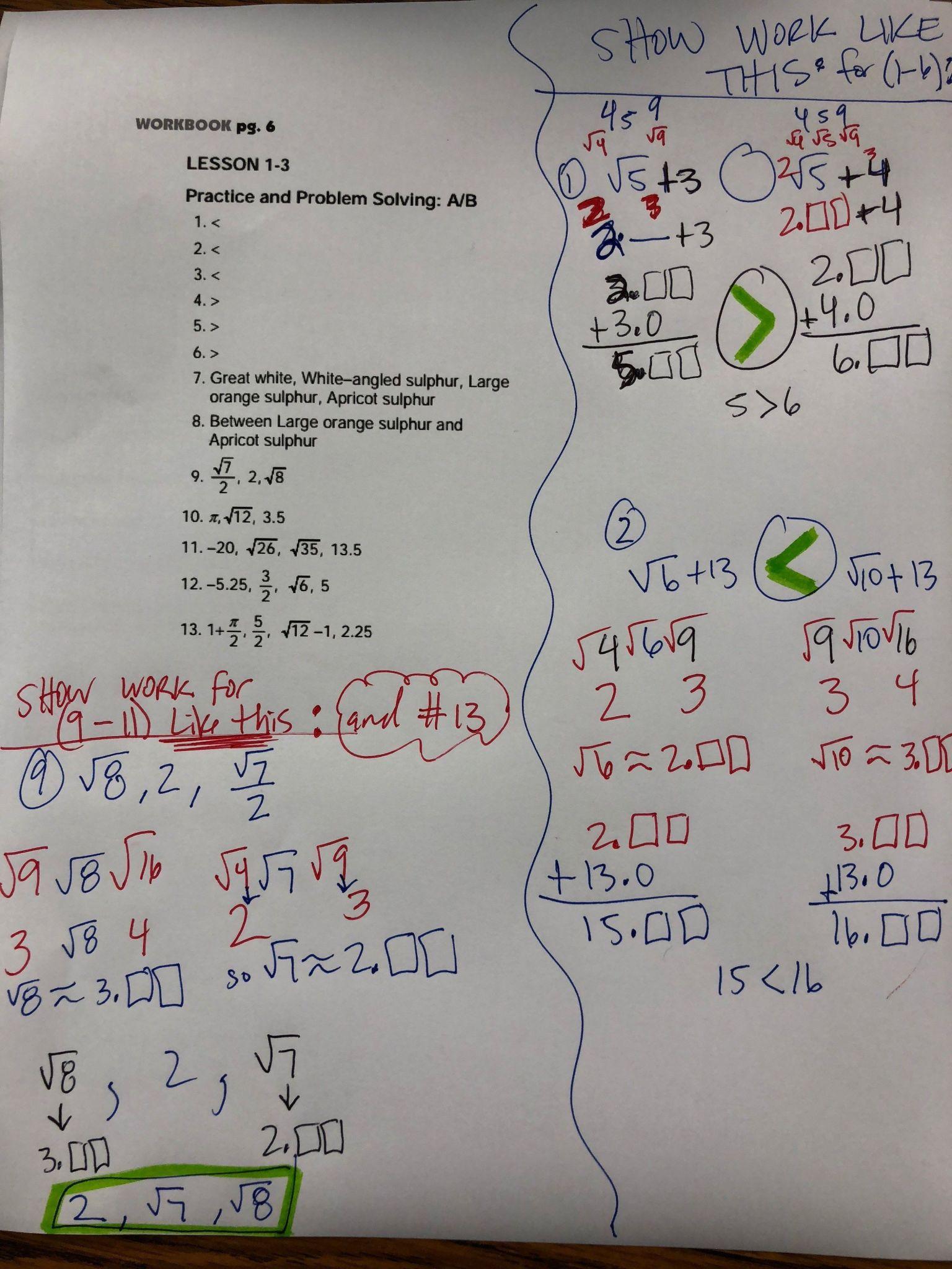 Linear Inequalities Worksheet