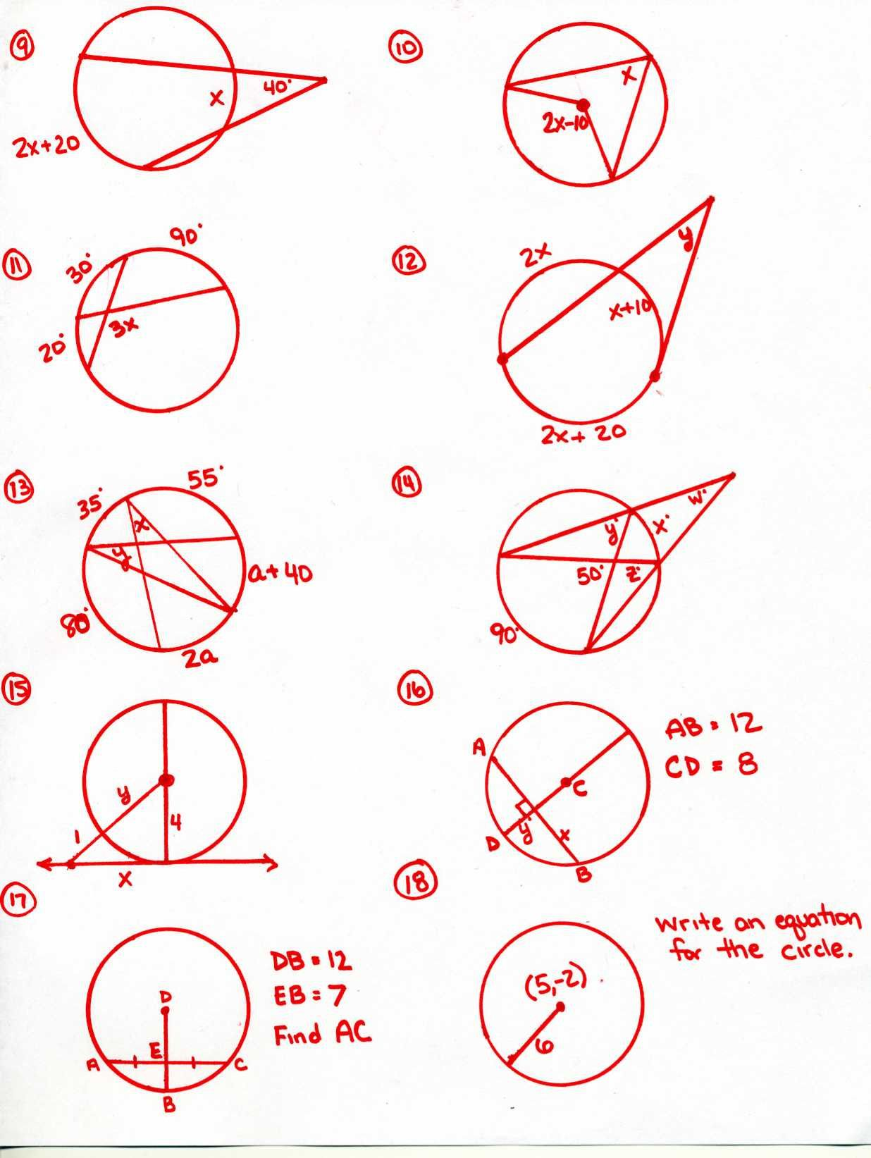 Math 154b Completing The Square Worksheet Answers