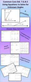 Measuring Angles Worksheet Answer Key